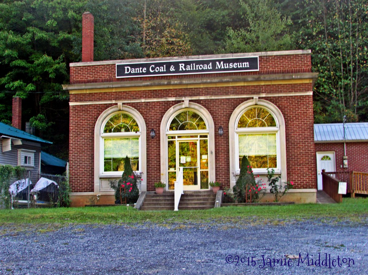 Dante Coal and Railroad Museum — Russell County, Virginia